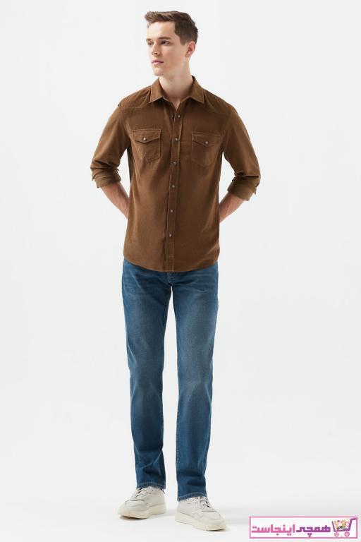 شلوار جین مردانه نخ پنبه برند ماوی رنگ آبی کد ty65766192