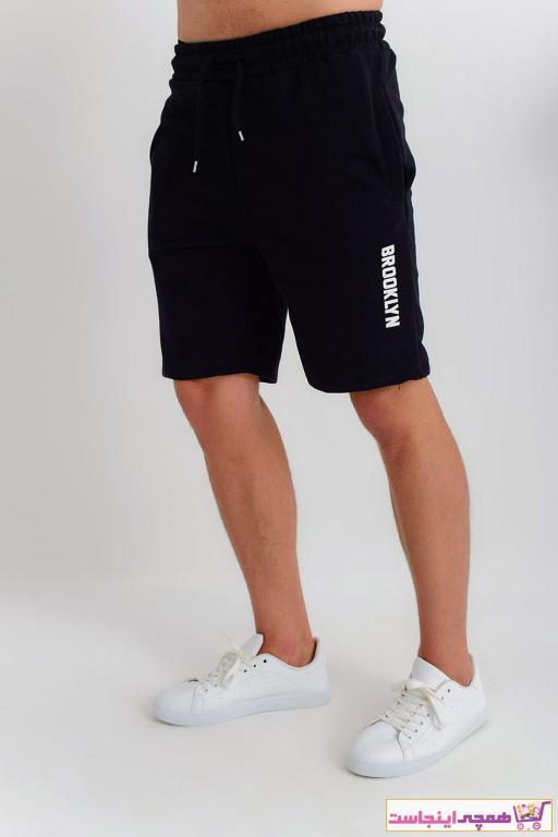 فروش شلوارک مردانه اصل و جدید برند Superlife رنگ مشکی کد ty6577943