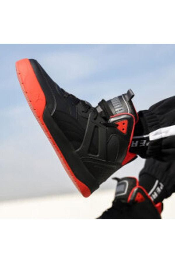 خرید اینترنتی کفش مخصوص پیاده روی بلند برند Puma رنگ مشکی کد ty65882225