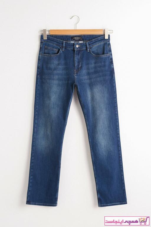 شلوار جین ساده برند ال سی وایکیکی رنگ آبی کد ty66334444