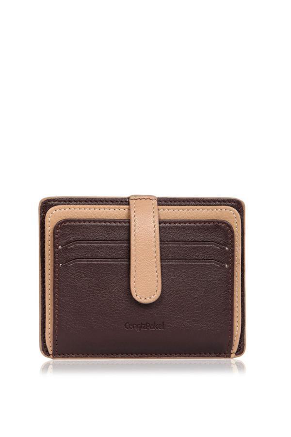 کیف کارت اعتباری مردانه برند CENGİZ PAKEL رنگ قهوه ای کد ty6712080