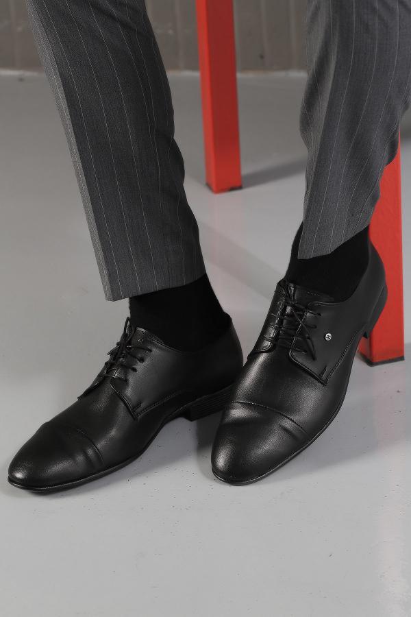 کفش کلاسیک مردانه فروشگاه اینترنتی برند Ayakkabı Modası رنگ مشکی کد ty6759979