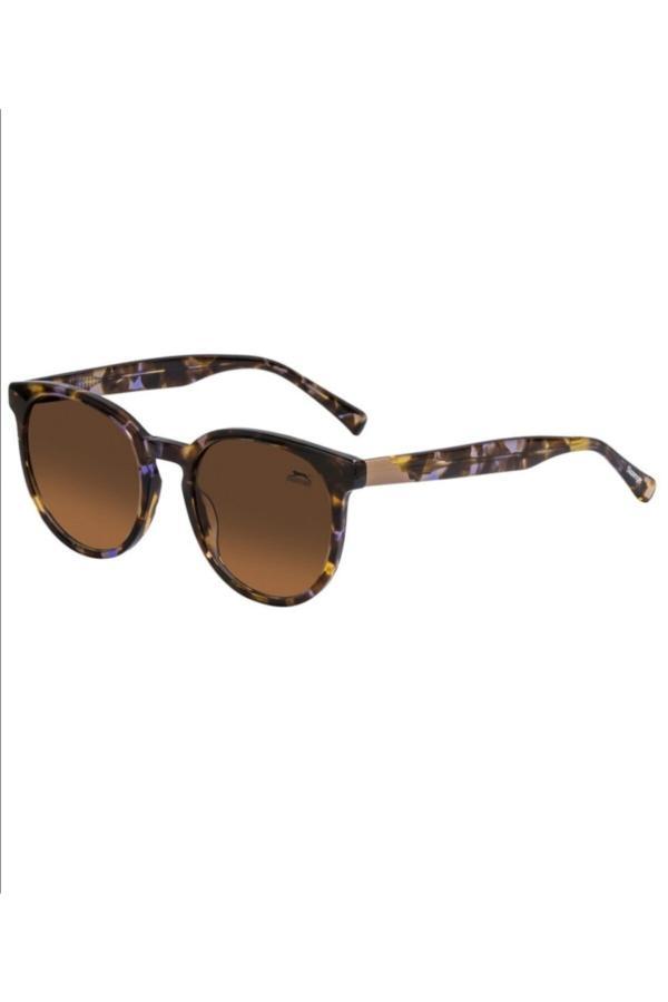 خرید اینترنتی عینک آفتابی خاص زنانه برند اسلازنگر رنگ بژ کد ty67894568