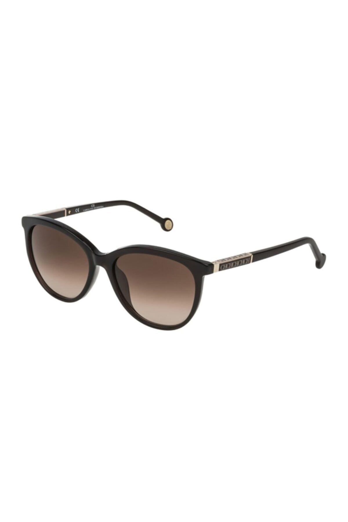 خرید نقدی عینک آفتابی زنانه فروشگاه اینترنتی برند Carolina Herrera رنگ قهوه ای کد ty67943485