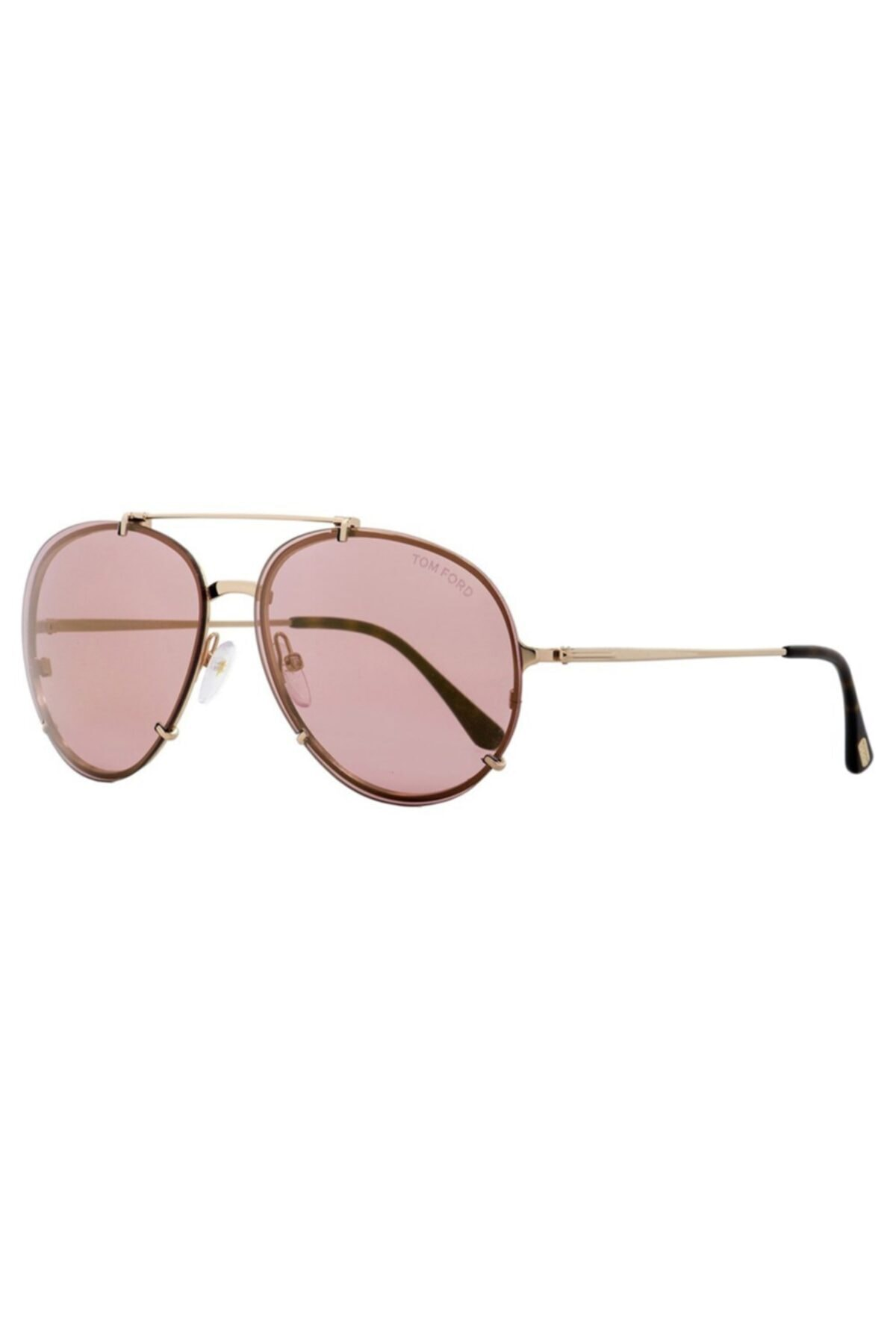 خرید اینترنتی عینک آفتابی خاص زنانه برند Tom Ford رنگ طلایی ty67943540