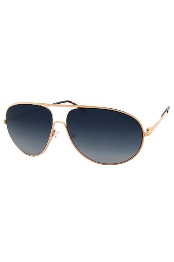 فروش پستی عینک آفتابی مردانه ترک برند Tom Ford رنگ طلایی ty67943745