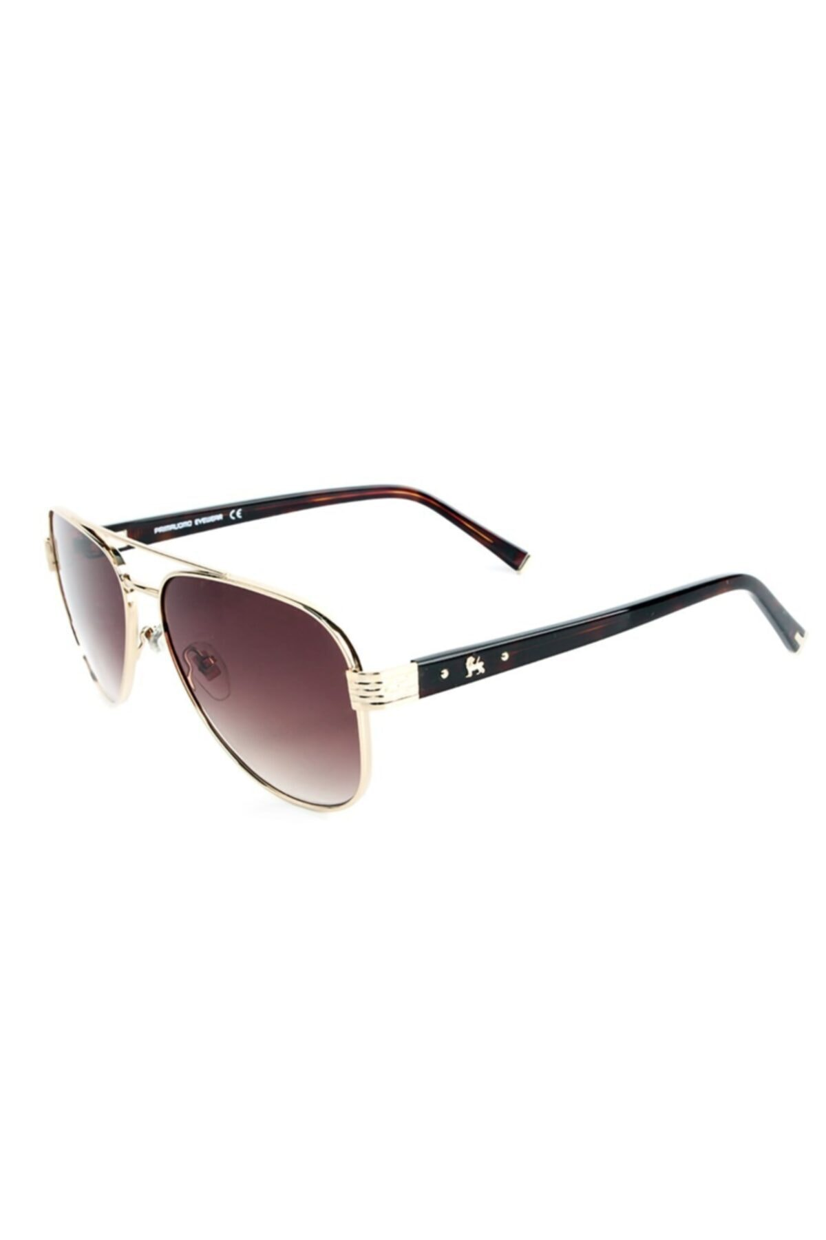 عینک آفتابی مردانه خفن برند Prima Uomo رنگ قهوه ای کد ty67949762