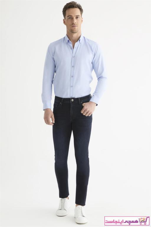 شلوار مردانه شیک مجلسی برند Efor رنگ لاجوردی کد ty67993445
