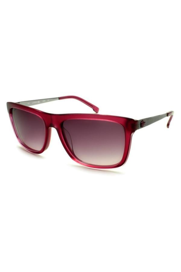 خرید اینترنتی عینک آفتابی بلند برند لاگوست lacoste رنگ صورتی ty67994602