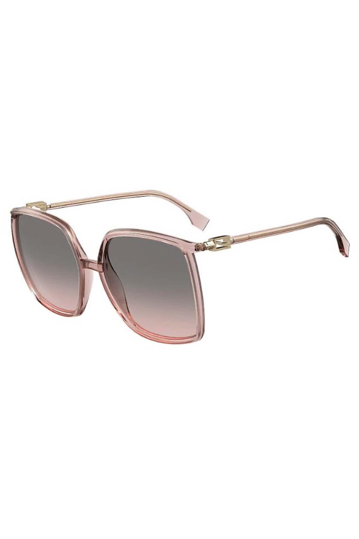 فروشگاه عینک آفتابی زنانه سال ۹۹ برند Fendi رنگ صورتی ty68003917