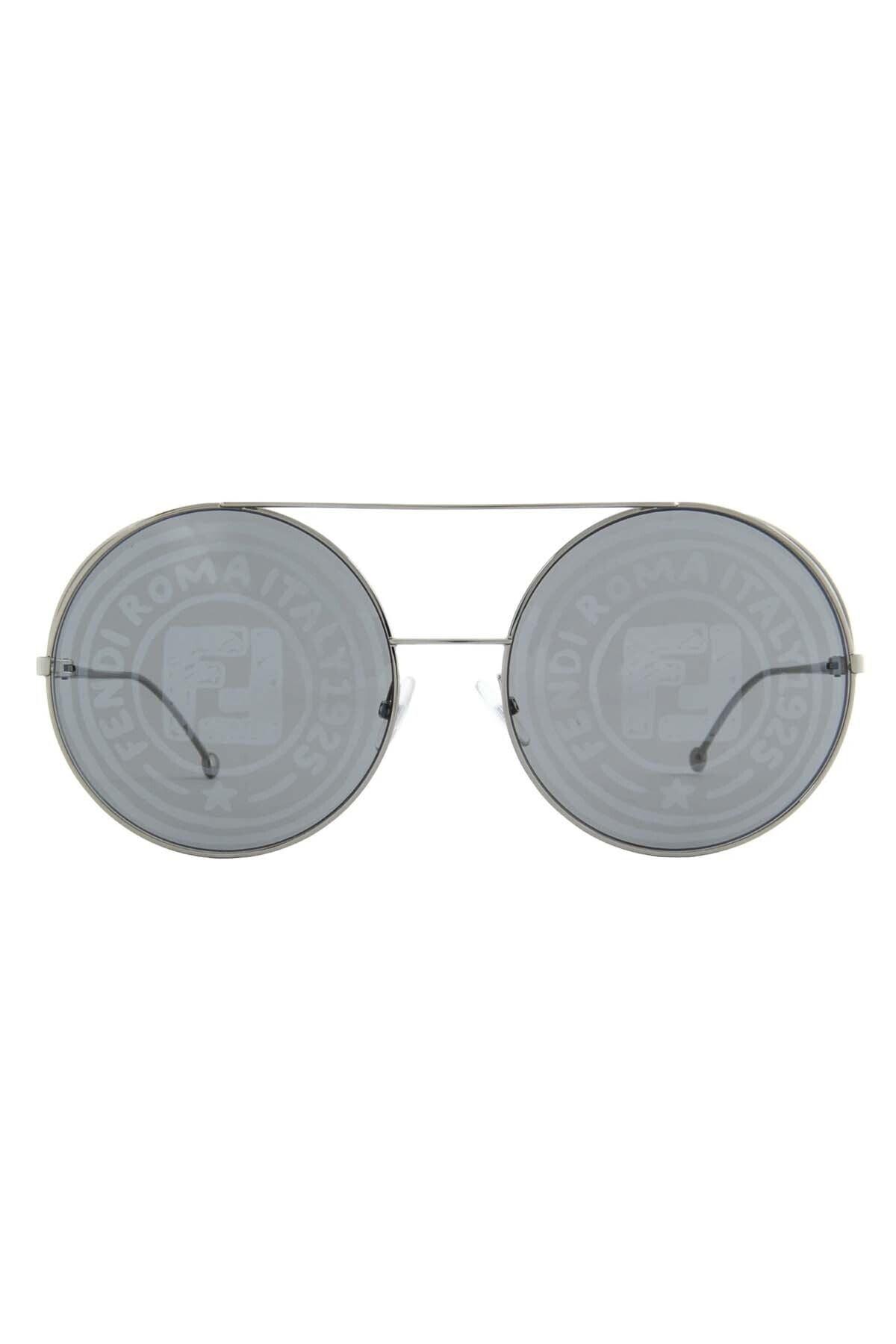 فروش عینک آفتابی زنانه ترک مجلسی برند Fendi رنگ نقره ای کد ty68006019