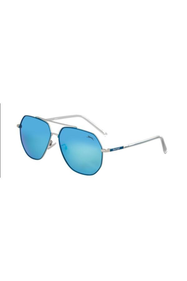 خرید نقدی عینک آفتابی زنانه ترک مارک اسلازنگر رنگ بژ کد ty68033493