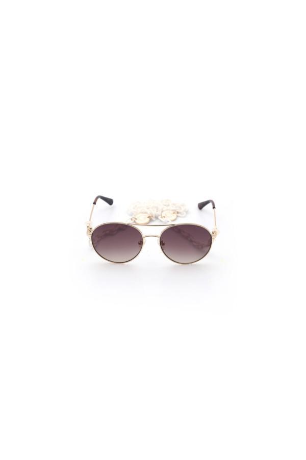 عینک آفتابی زنانه ست برند Guess رنگ بژ کد ty68057186
