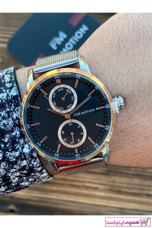 ساعت مردانه شیک جدید برند Ferrucci رنگ نقره ای کد ty68072092