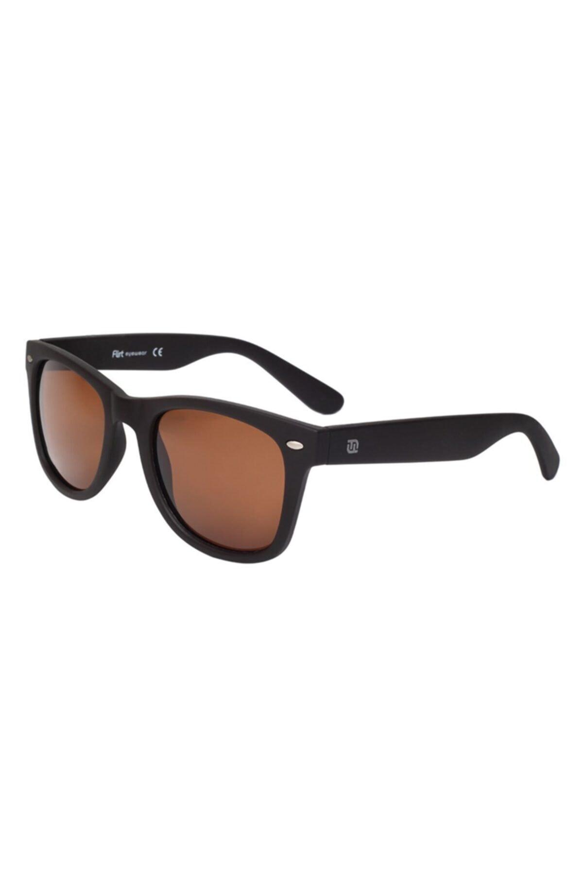 فروش پستی عینک آفتابی مردانه شیک جدید برند Flirt رنگ قهوه ای کد ty68136232