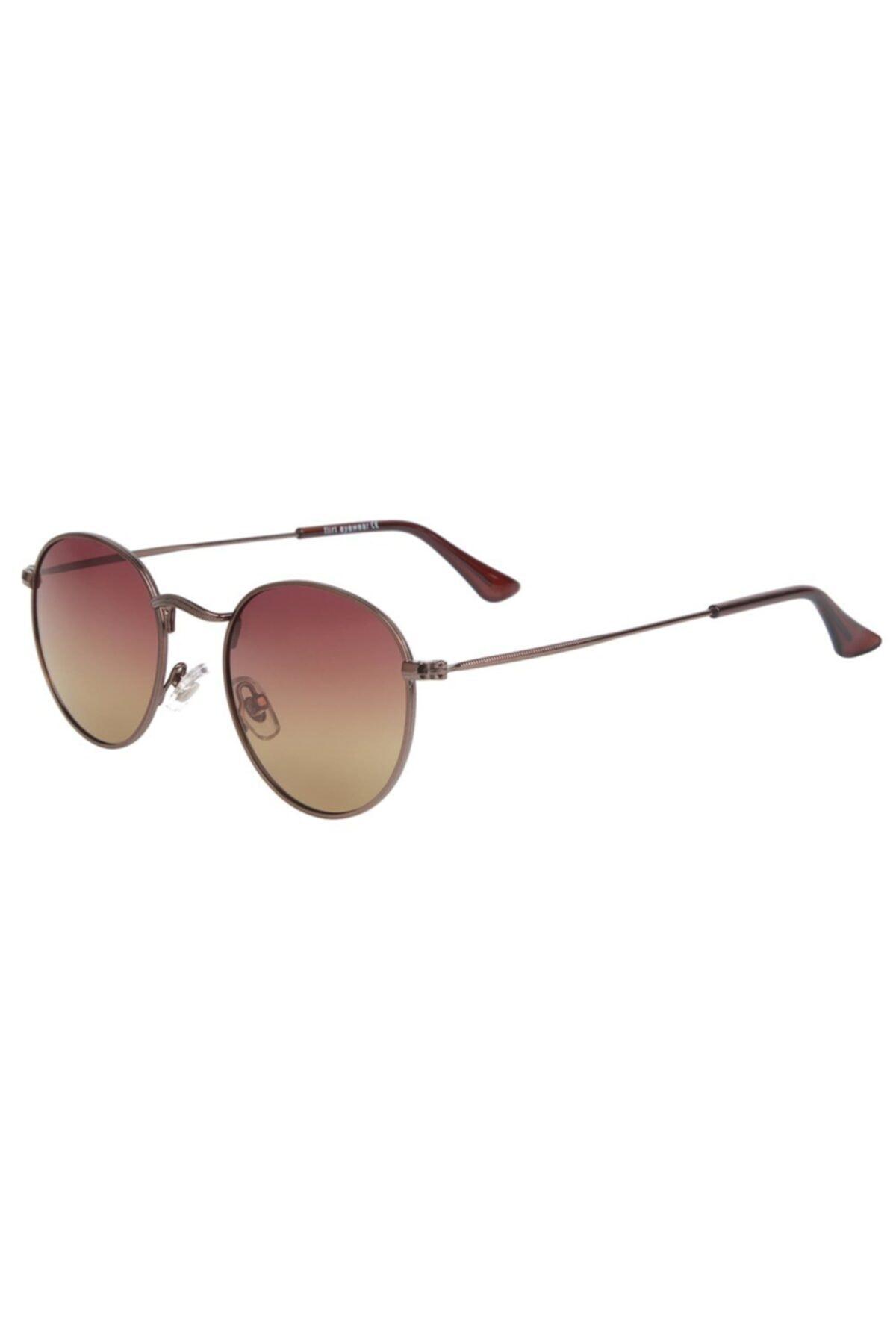 عینک آفتابی مردانه مجلسی برند Flirt رنگ قهوه ای کد ty68136598