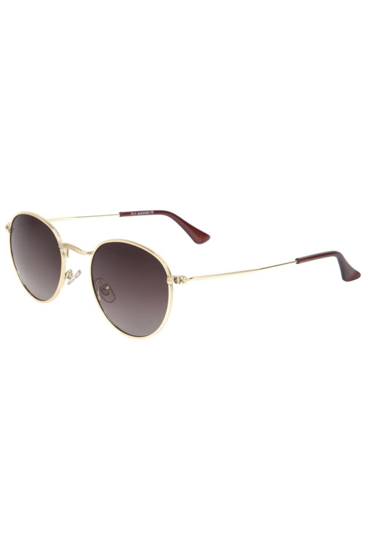 عینک آفتابی طرح دار برند Flirt رنگ زرد ty68136721