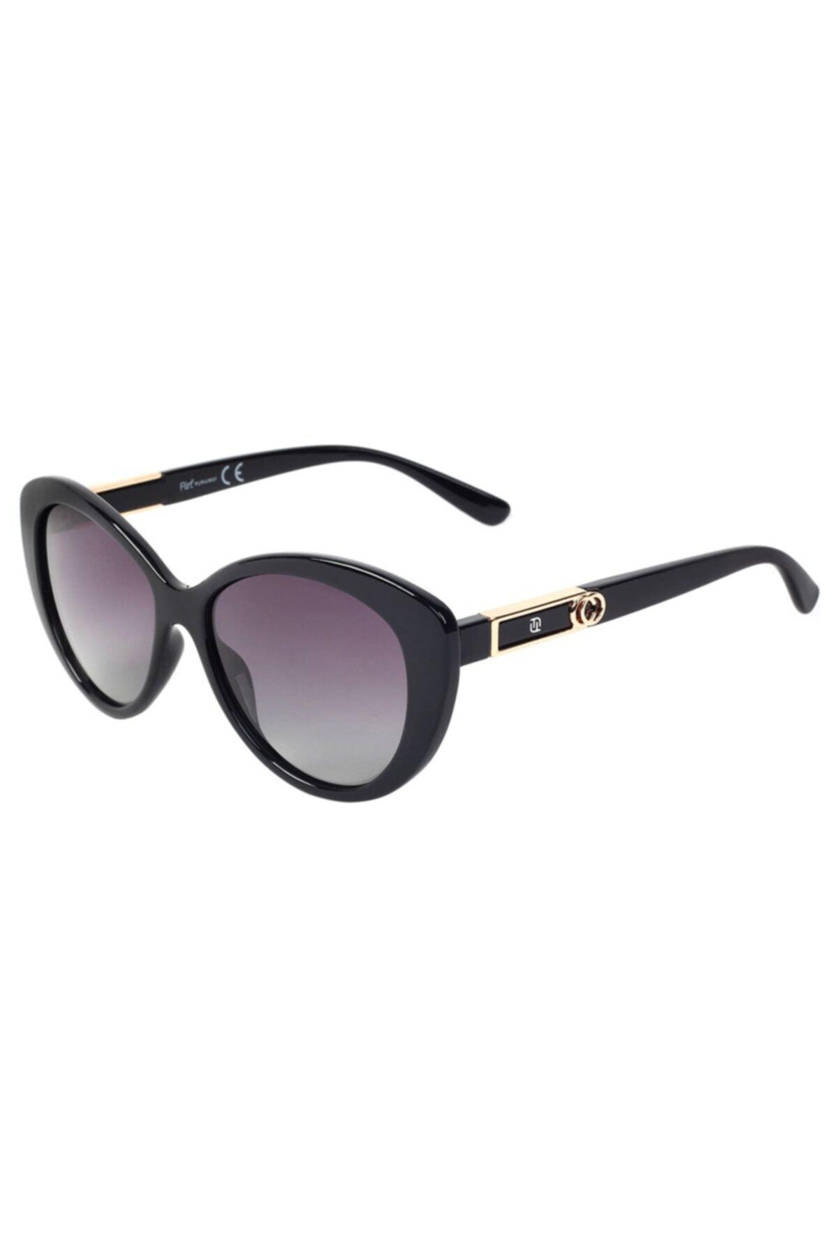 فروش عینک آفتابی زنانه فانتزی برند Flirt رنگ مشکی کد ty68136776