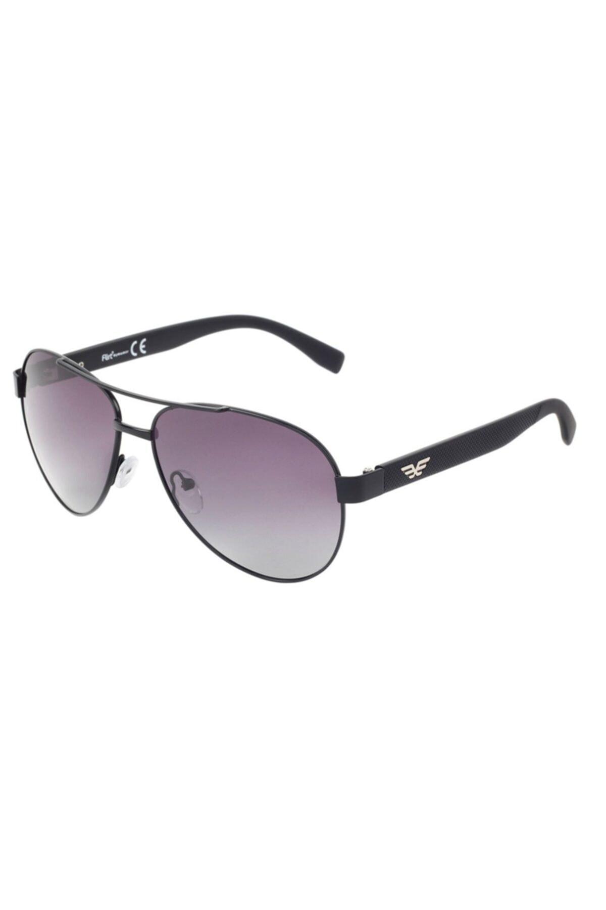 خرید اینترنتی عینک آفتابی مردانه از استانبول برند Flirt رنگ مشکی کد ty68136843