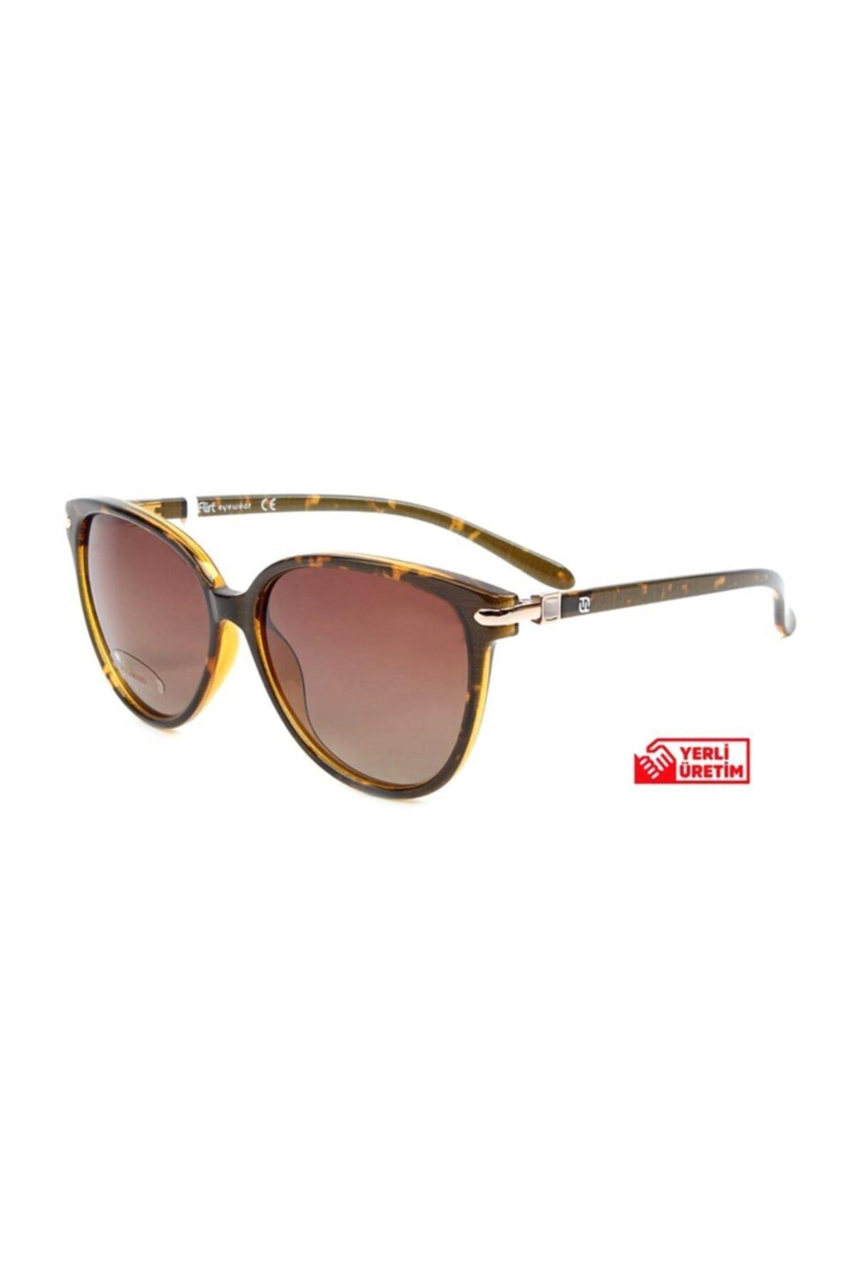 فروش عینک آفتابی زنانه حراجی برند Flirt کد ty68136901