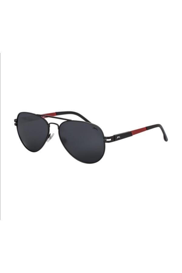 خرید پستی عینک آفتابی شیک مردانه مارک اسلازنگر رنگ بژ کد ty68189356