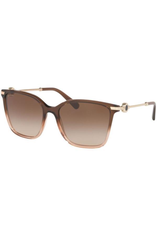 عینک آفتابی جدید زنانه شیک برند Bvlgari رنگ قهوه ای کد ty68192582