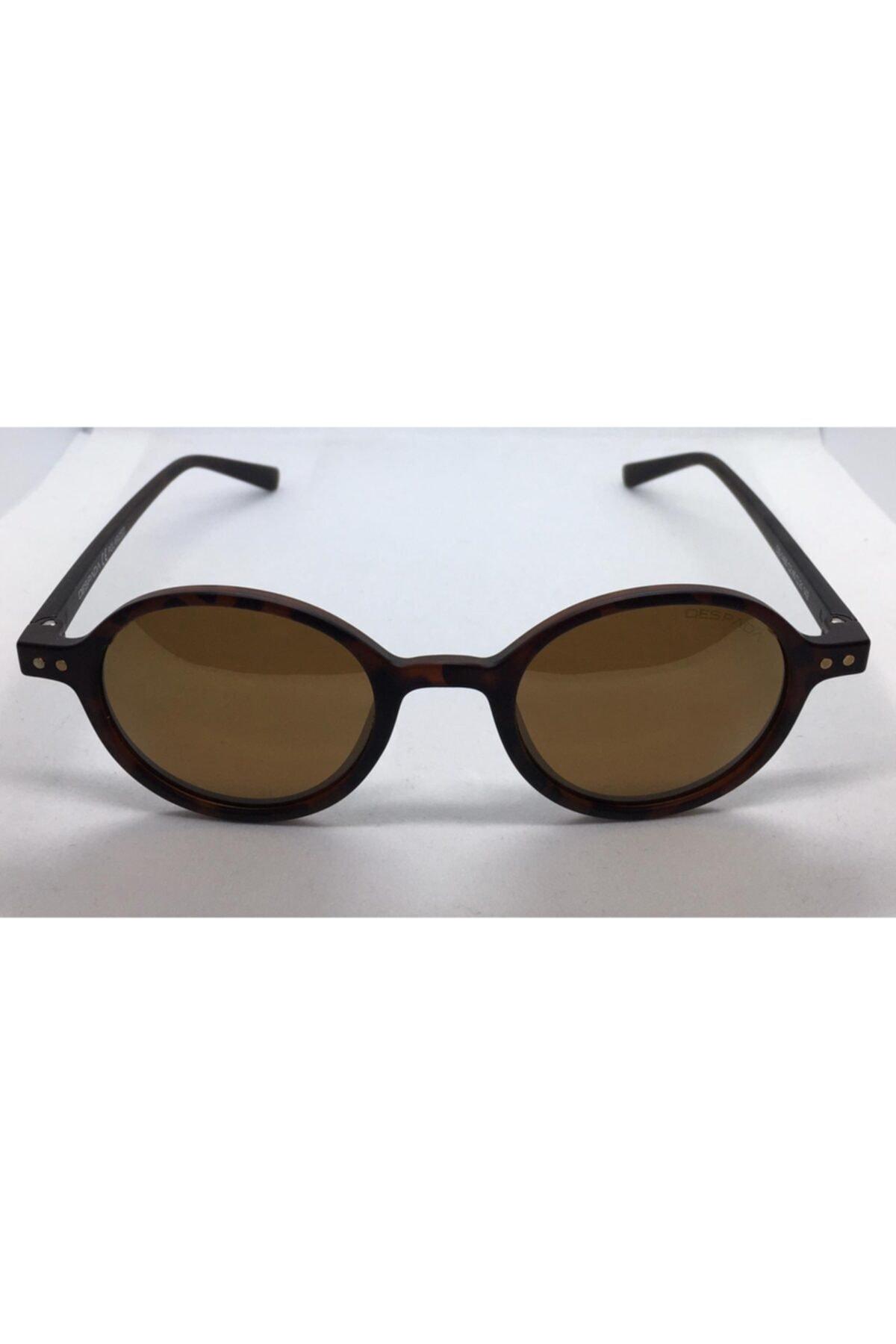 عینک آفتابی مردانه نخ پنبه برند Despada رنگ قهوه ای کد ty68232688