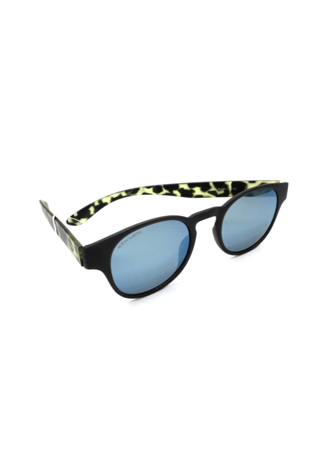 خرید انلاین عینک آفتابی طرح دار برند Aston Martin رنگ مشکی کد ty68260989
