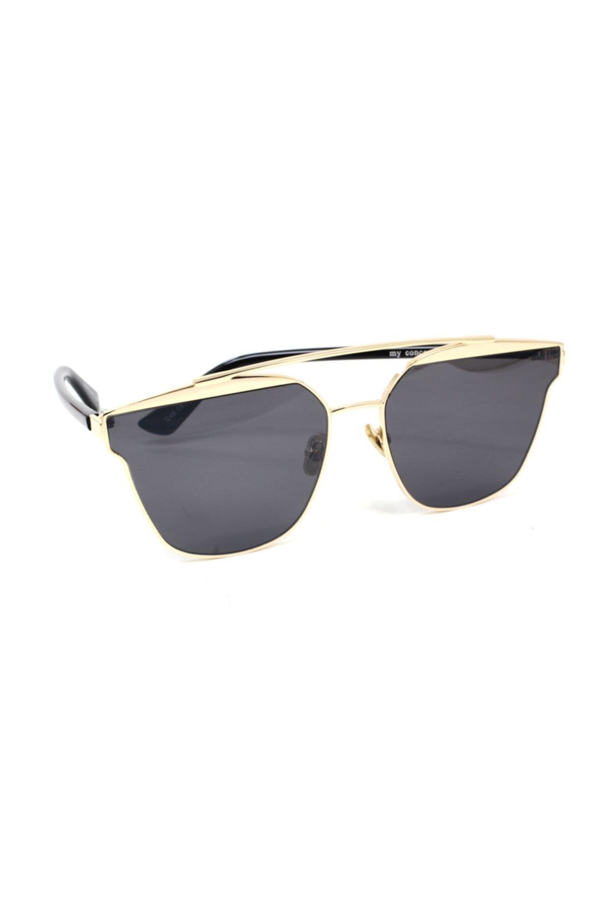 خرید انلاین عینک آفتابی جدید زنانه شیک برند MY CONCEPT رنگ مشکی کد ty68261149
