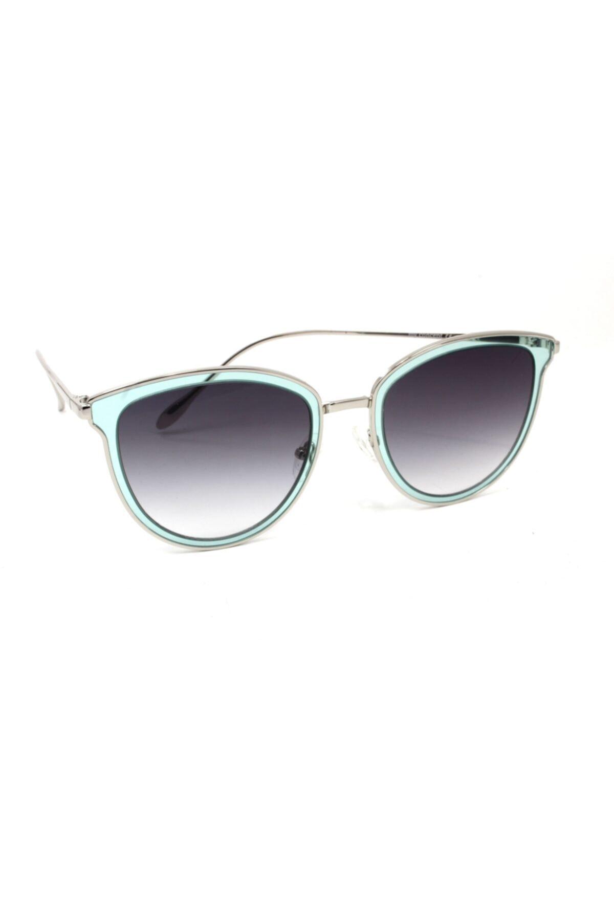 خرید انلاین عینک آفتابی جدید زنانه شیک برند MY CONCEPT رنگ نقره ای کد ty68261383