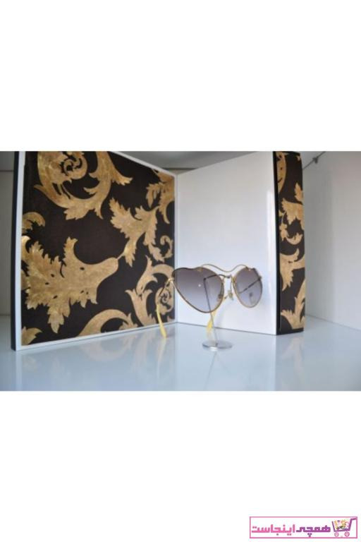 عینک آفتابی زنانه شیک مجلسی برند Miu Miu رنگ زرد ty68297601