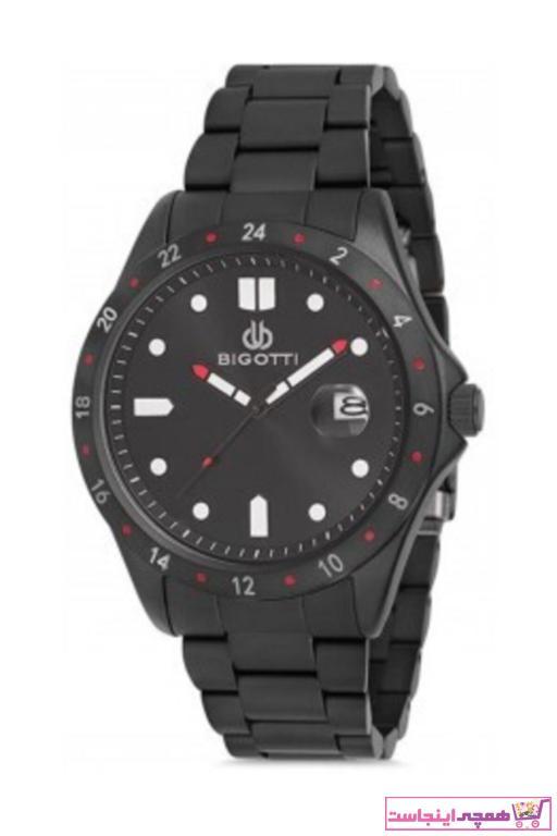 خرید اینترنتی ساعت شیک برند Bigotti Milano رنگ مشکی کد ty68302472