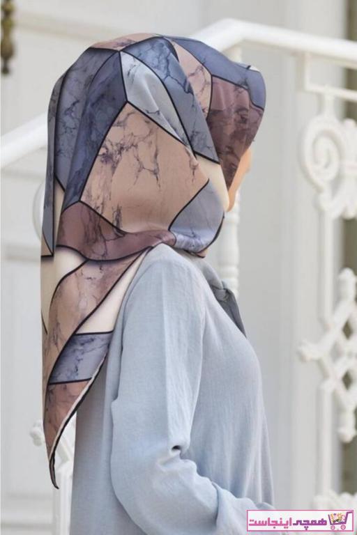 خرید اینترنتی روسری زنانه برند Vissona رنگ بژ کد ty68306350