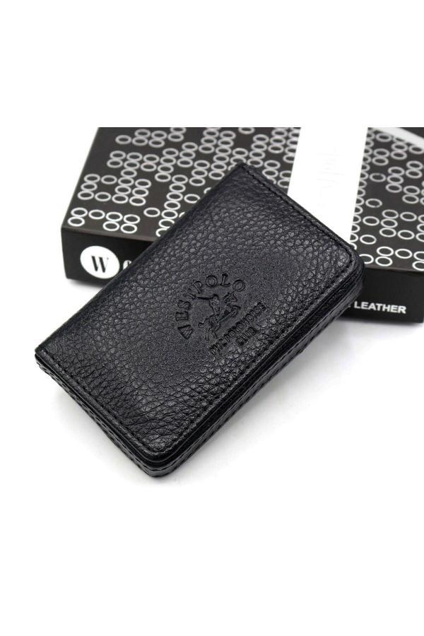 قیمت کیف کارت اعتباری مردانه برند Westpolo رنگ مشکی کد ty7156385