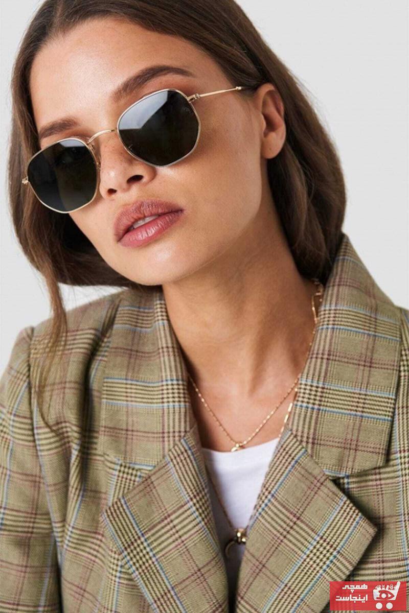عینک آفتابی مردانه ترک برند Mathilda Aksesuar رنگ مشکی کد ty72714991