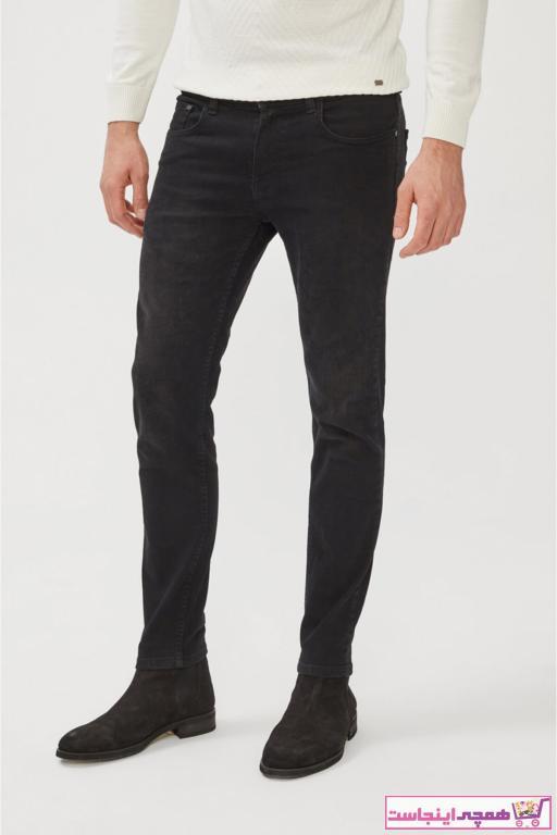 خرید پستی شلوار جین زیبا مردانه برند آوا رنگ مشکی کد ty75960399