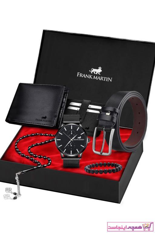 خرید اسان ساعت مردانه اسپرت جدید برند Frank Martin رنگ مشکی کد ty77462693