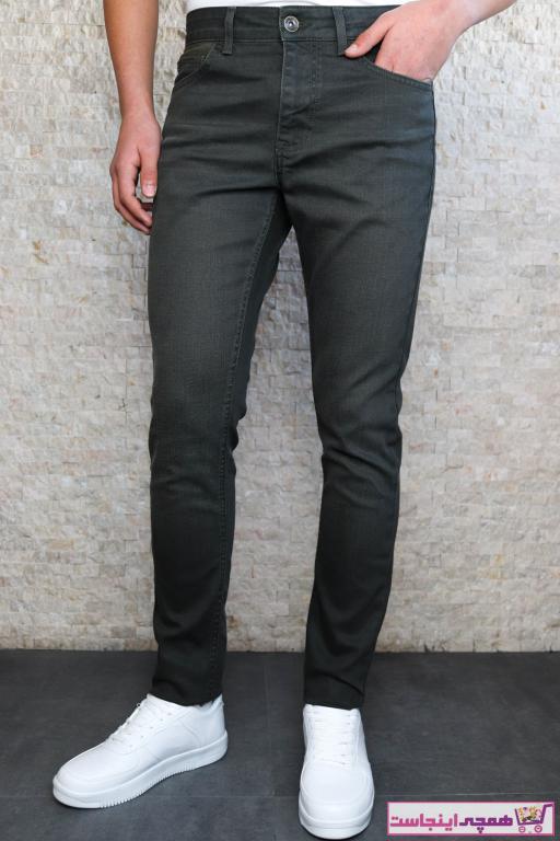 خرید شلوار جین از ترکیه برند HLT JEANS رنگ خاکی کد ty79355491