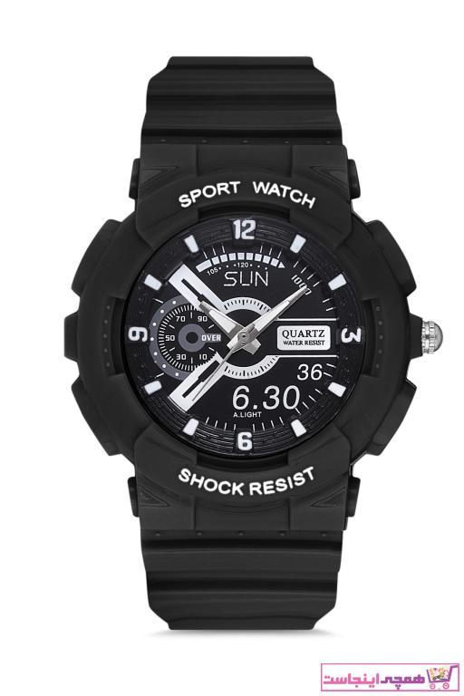 خرید انلاین ساعت مردانه طرح دار مارک Aqua Di Polo 1987 رنگ مشکی کد ty80137072