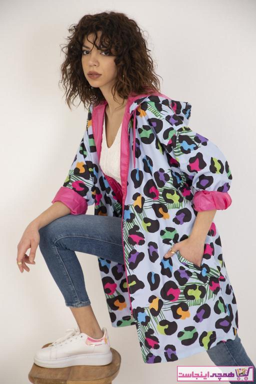 فروشگاه بارانی زنانه برند Ferrika رنگ آبی کد ty84127634