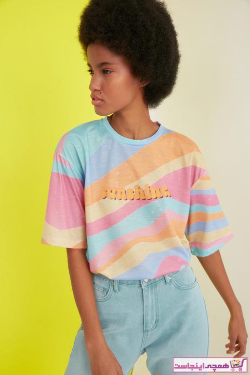 تی شرت جدید مارک ترندیول میلا کد ty85827315