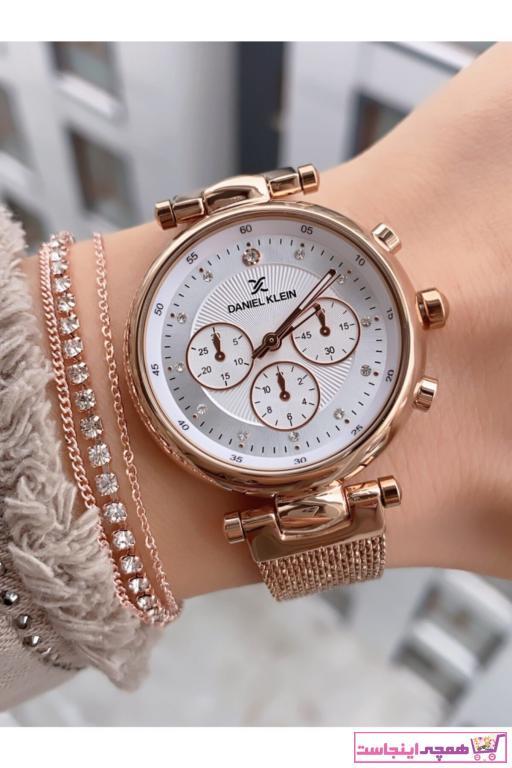 فروشگاه ساعت دخترانه اینترنتی برند Daniel Klein رنگ صورتی ty87827837
