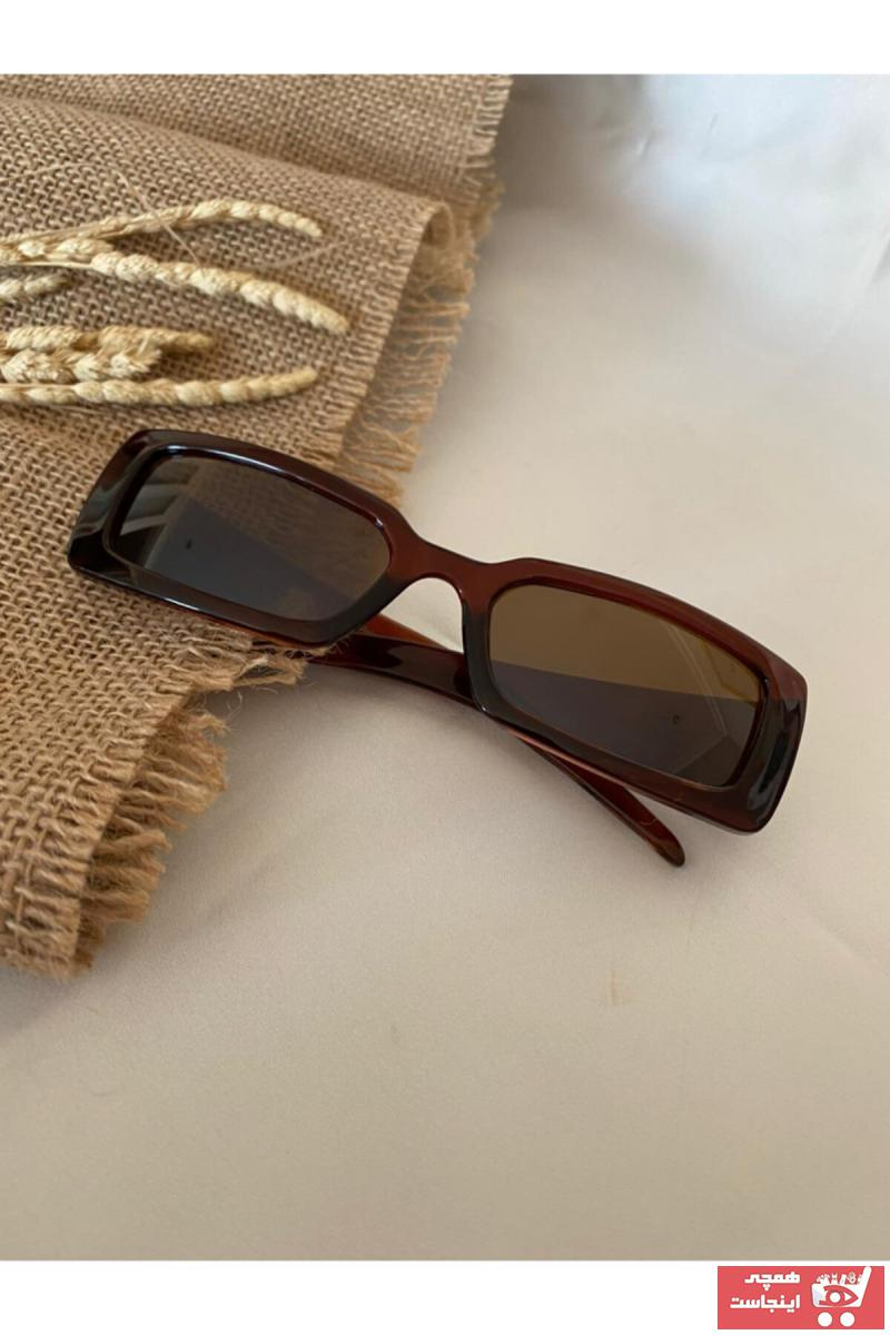 عینک آفتابی 2020 مردانه برند Mathilda Aksesuar رنگ قهوه ای کد ty88913854