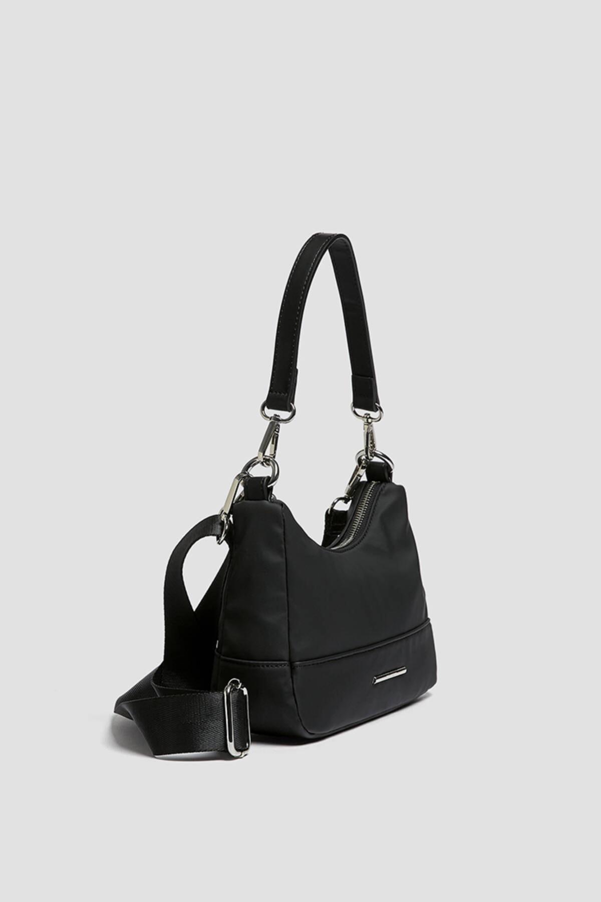 حرید اینترنتی کیف دستی دخترانه ارزان برند Pull & Bear رنگ مشکی کد ty89702843