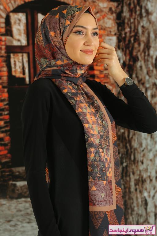 روسری دخترانه جدید برند Moda Ebrar رنگ نارنجی کد ty89775004
