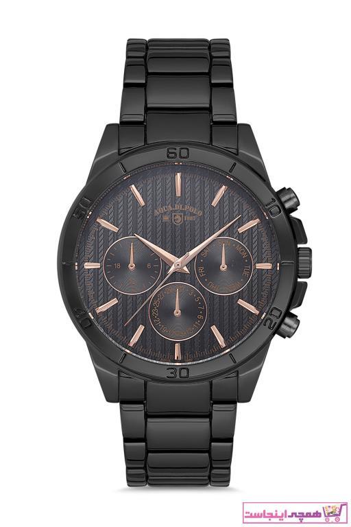 ساعت مردانه مدل مارک Aqua Di Polo 1987 رنگ نقره کد ty89804567