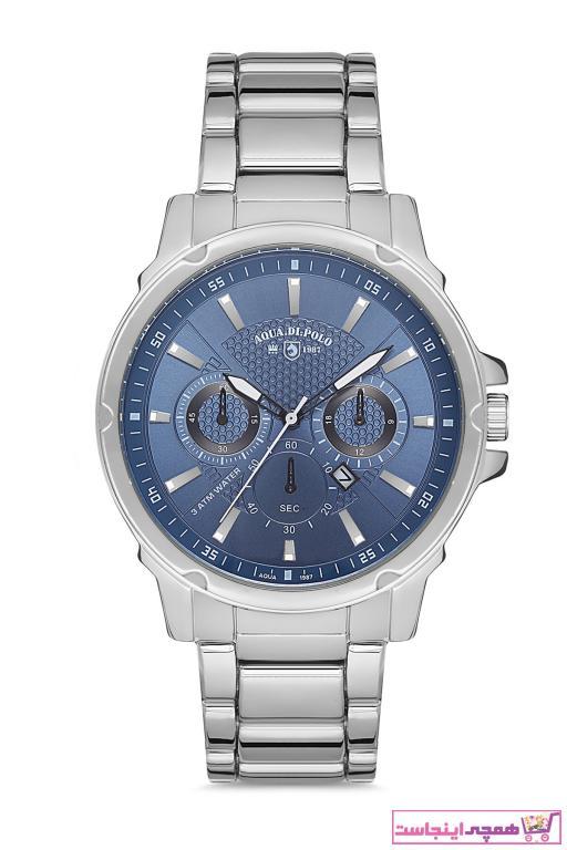 ساعت مردانه مارک Aqua Di Polo 1987 رنگ نقره ای کد ty89828718