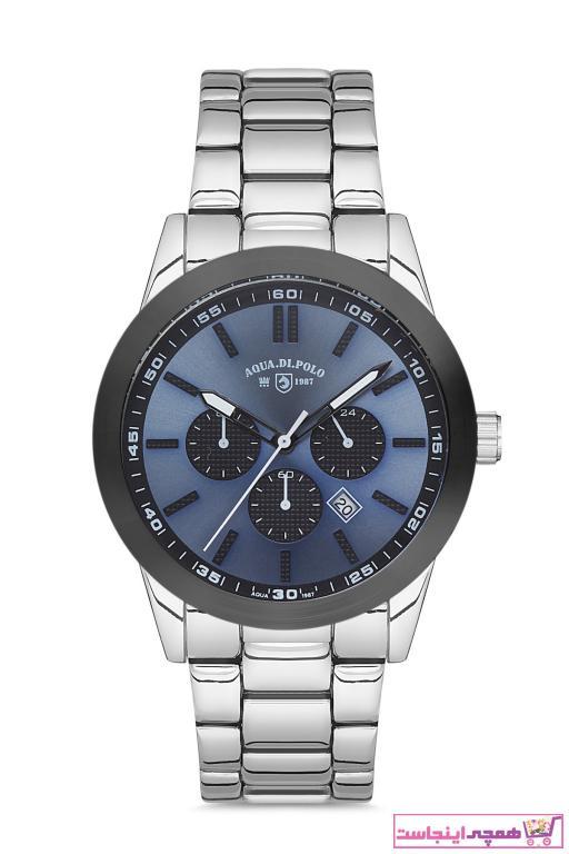 خرید انلاین ساعت زیبا مردانه برند Aqua Di Polo 1987 رنگ نقره ای کد ty89848450