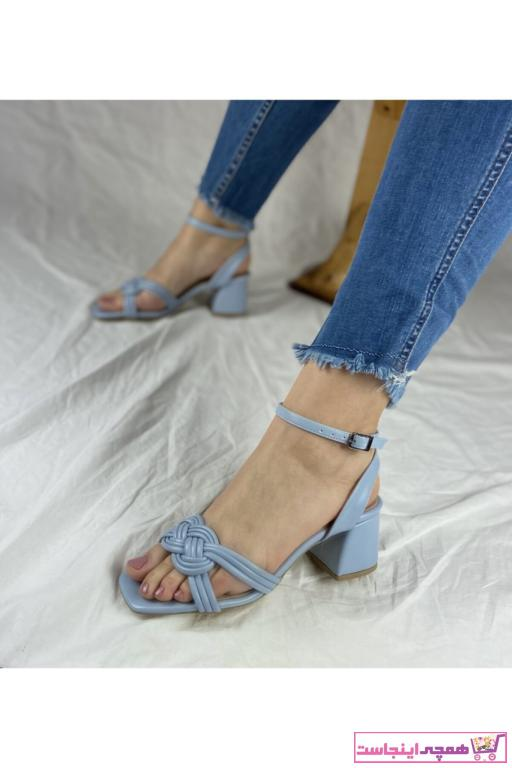 پاشنه دار دخترانه ترک برند Pine Shoes رنگ آبی کد ty91355281