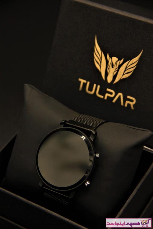 خرید نقدی ساعت دخترانه برند Tulpar رنگ مشکی کد ty92656159